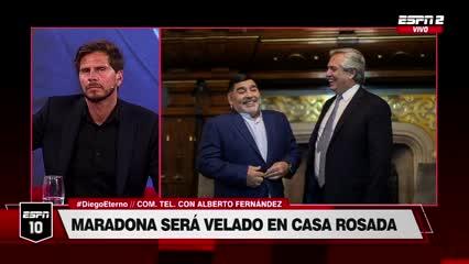 """Alberto Fernández: """"Hemos perdido al mejor de nosotros"""""""