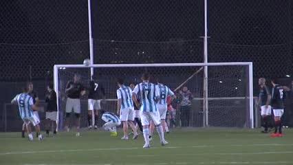 El senior de River le ganó 2-0 a Racing (Gentileza: Matías Silva)