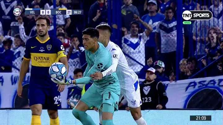 ¿Era expulsión para Domínguez por el agarrón a Andrada?