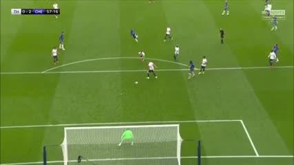 Los goles del triunfo del Chelsea y el Tottenham