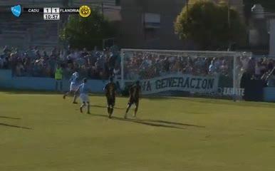 Los goles de CADU 2 - Flandria 1
