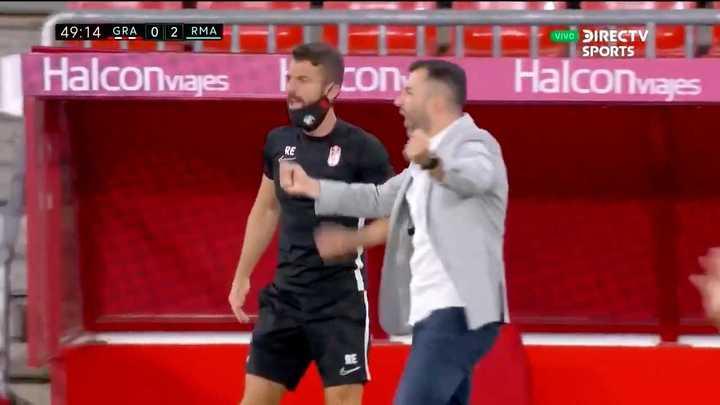 Granada descontó con gol de Machís