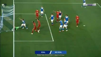Fazio metió un gol en el triunfo de Roma vs. Brescia