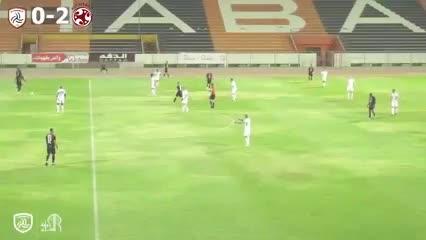 Los goles de Guanca para el Al Shabab de Ever Banega.