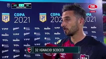 """Nacho Scocco: """"La experiencia dice que uno tiene que estar siempre listo para entrar"""""""