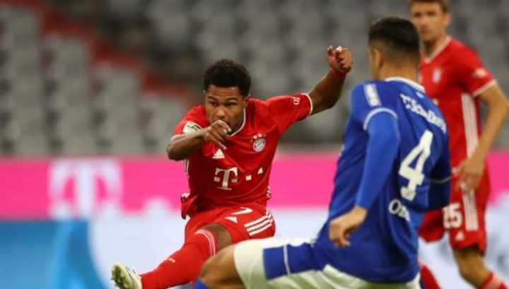 El 1 a 0 de Gnabry para el Bayern