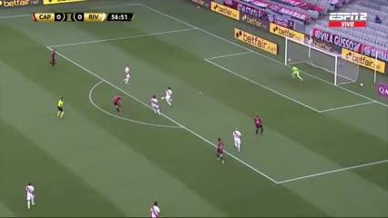 Bissoli marcó el 1 a 0 de Paranaense