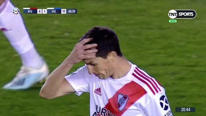 El travesaño impidió el empate de Nacho Fernández