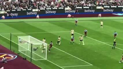 Triunfazo del West Ham sobre Manchester United (2-0)