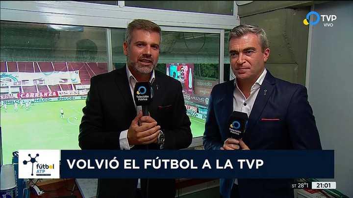 Volvió el fútbol a la TVP