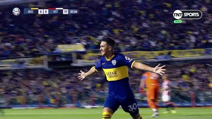 Andújar dio el rebote y Bebelo lo aprovechó para el 1-0