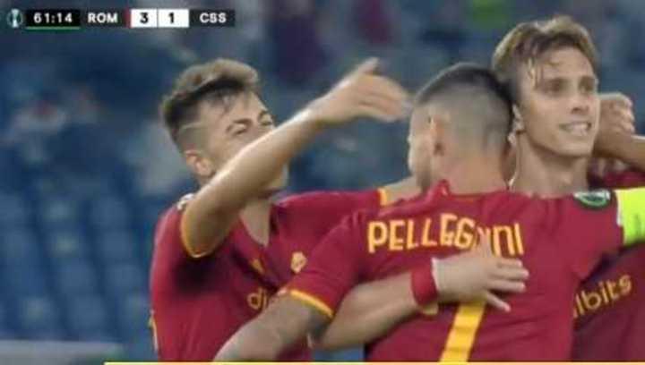 5-1 de Roma ante CSKA Sofía