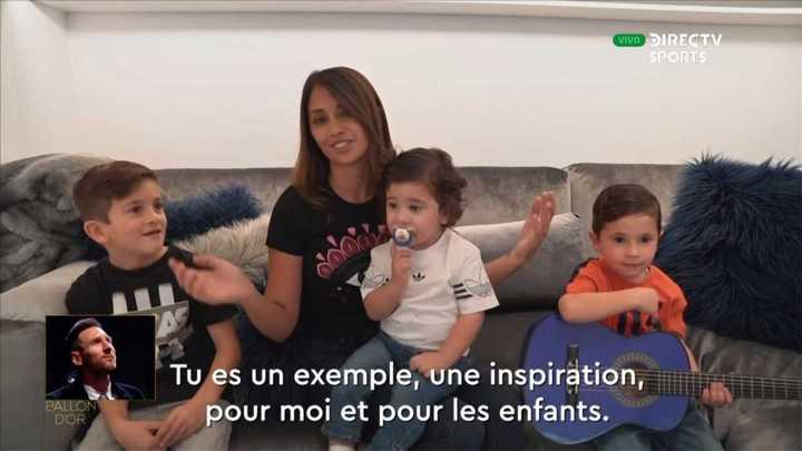 El mensaje de la familia a Messi