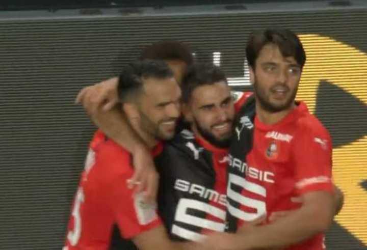 El Rennes le ganó 2-1 al PSG