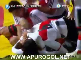 El gol de Pezzella en la Copa Campeonato