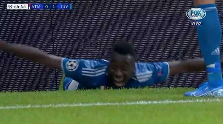 De cabeza, Matuidi marcó el segundo de Juve