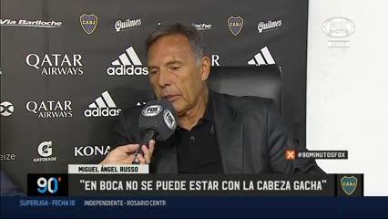 """""""En Boca no se puede estar con la cabeza gacha"""""""