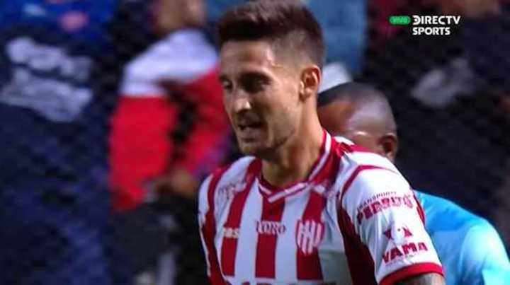 Mazzola marcó el primer gol de Unión en copas internacionales