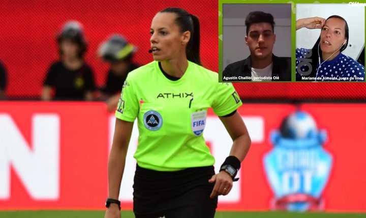 De Almeida y dirigir en la Libertadores