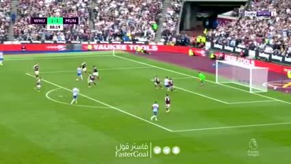 El golazo de Lingard que le dio el 2-1 al Manchester United ante West Ham