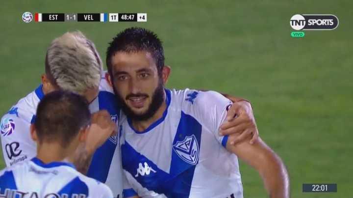 Vargas empató para Vélez