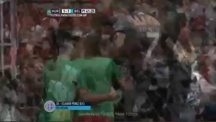 El gol en contra de Belgrano para empatar