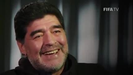 La canción de cancha favorita de Maradona.