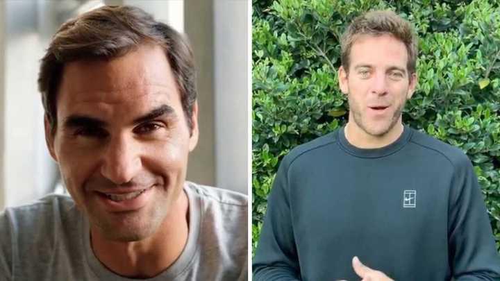 Delpo confirmó que jugará con Federer en Argentina