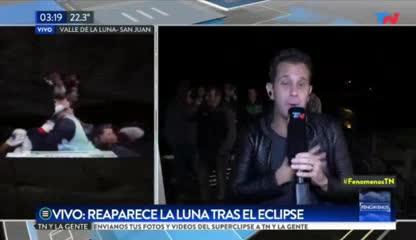 El gol del Pity Martínez en el eclipse