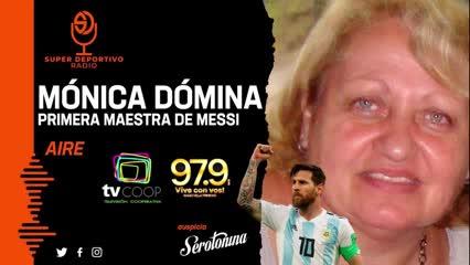 El llanto conmovedor de la primera seño de Messi al recordarlo