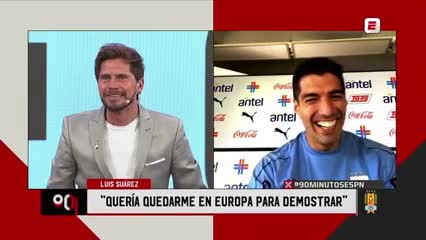 ¿Qué hará Suárez en caso de marcarle al Barcelona?