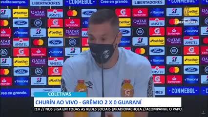 Churín lamentó la muerte de Diego