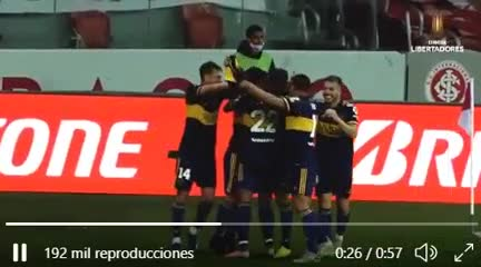 El gol de Tevez desde otro ángulo