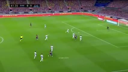 El partido de Leo vs. Espanyol: la Messi Cam