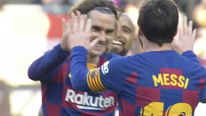 Messi y un nuevo hat trick
