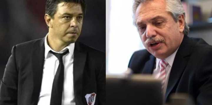 """""""Hablé con Gallardo sobre la vuelta del fútbol"""""""