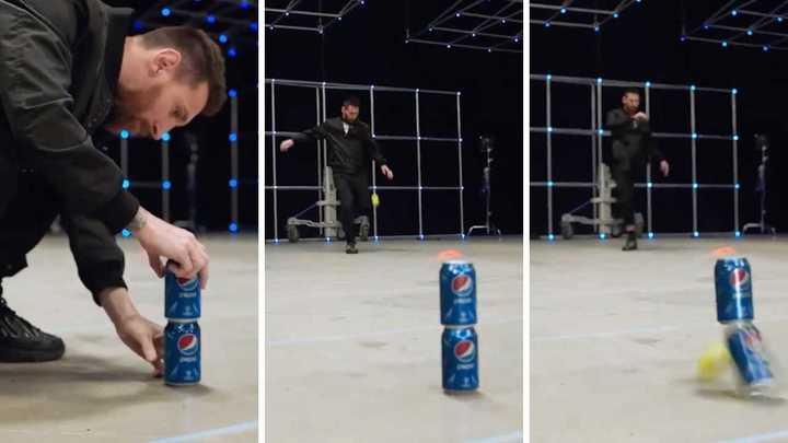 Leo Messi participó de un nuevo comercial