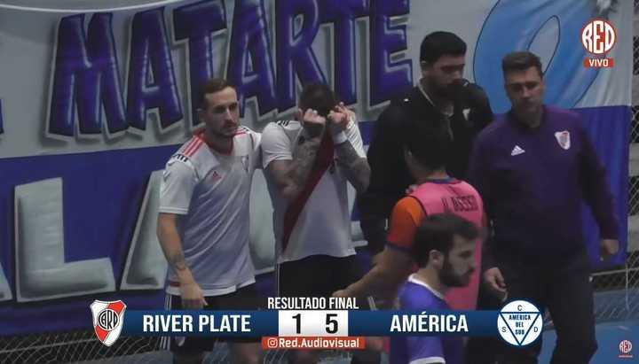 Los últimos segundos de River en Primera de futsal