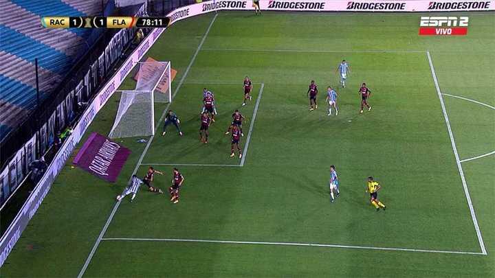 Gol anulado a Reneiro