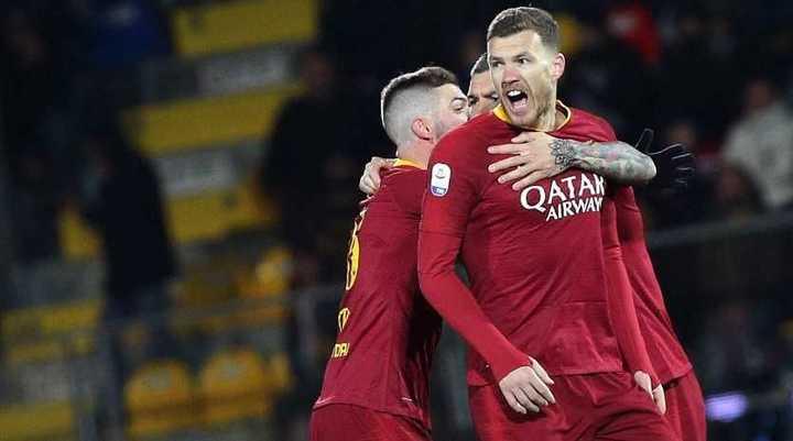Roma venció por 3 a 2 al Frosinone