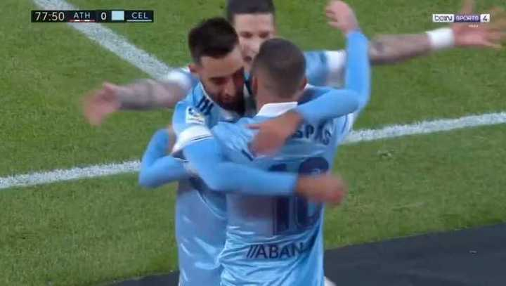 La victoria del Celta en Bilbao