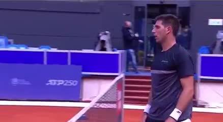 Delbonis a octavos de final del ATP 250 de Belgrados