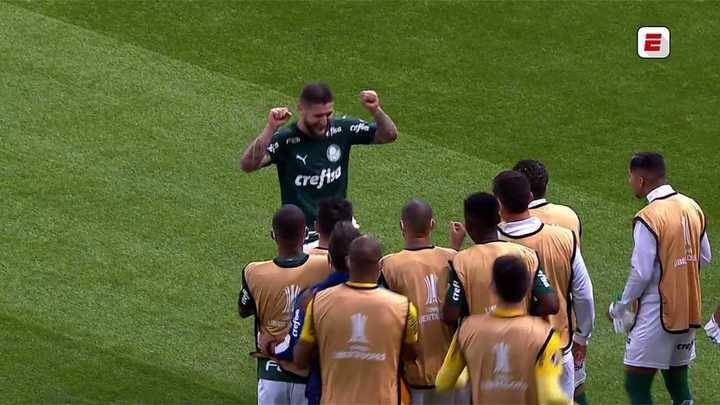 Palmeiras metió el 3 a 0 ante Tigre