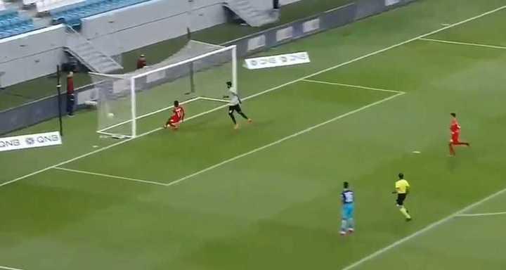 El Mohamed Salah qatarí convirtió un gol insólito