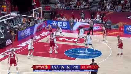 Lo mejor de Estados Unidos 87-Polonia 74