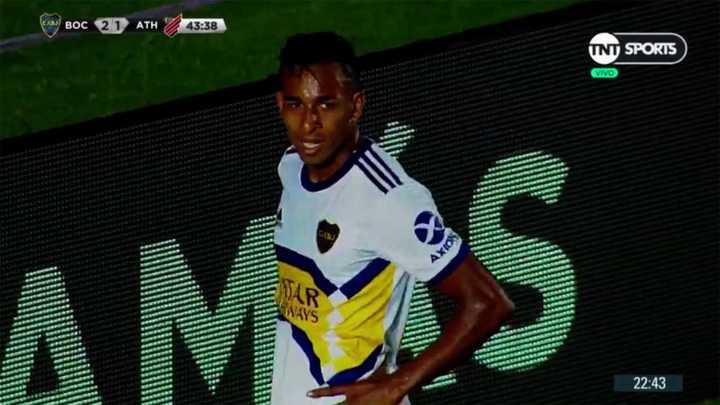 Villa se perdió el tercero de Boca