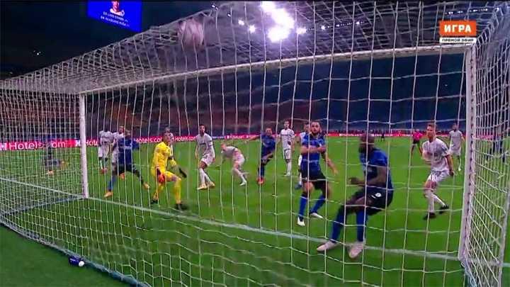 El Inter y Mönchengladbach empataron 2 a 2
