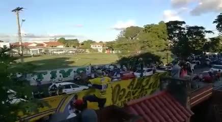 El aliento a Boca en el entrenamiento en Bolivia