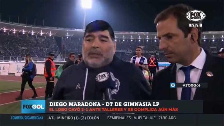 Maradona cargó contra Mastrángelo: