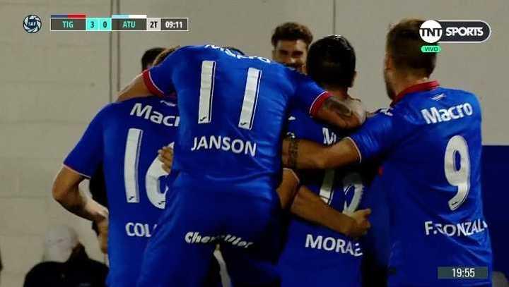 Los 5 goles de Tigre a Atlético Tucumán